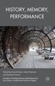 History, Memory, Performance book