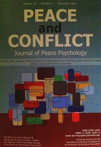 Peace and Conflict Book