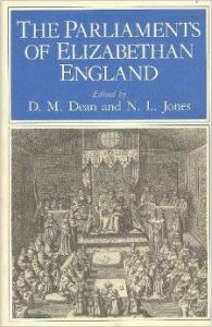 The Parliament of Elizabethan England cover